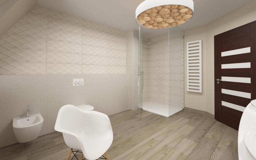 łazienka z ciepłym drewnem (2)