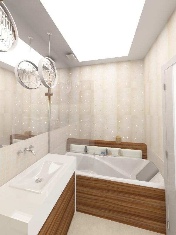 łazienka z płytkami swarovski (1)