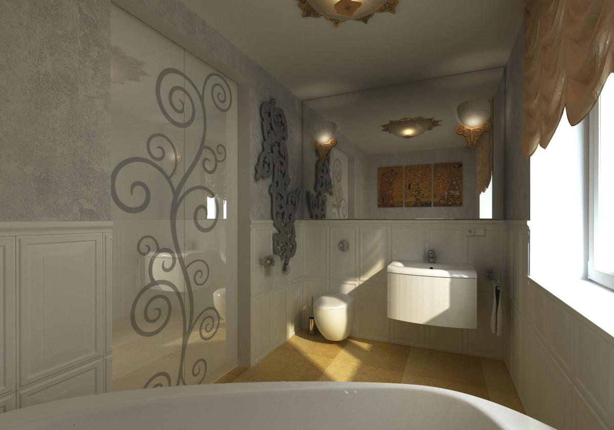łazienka z tapetą (1)