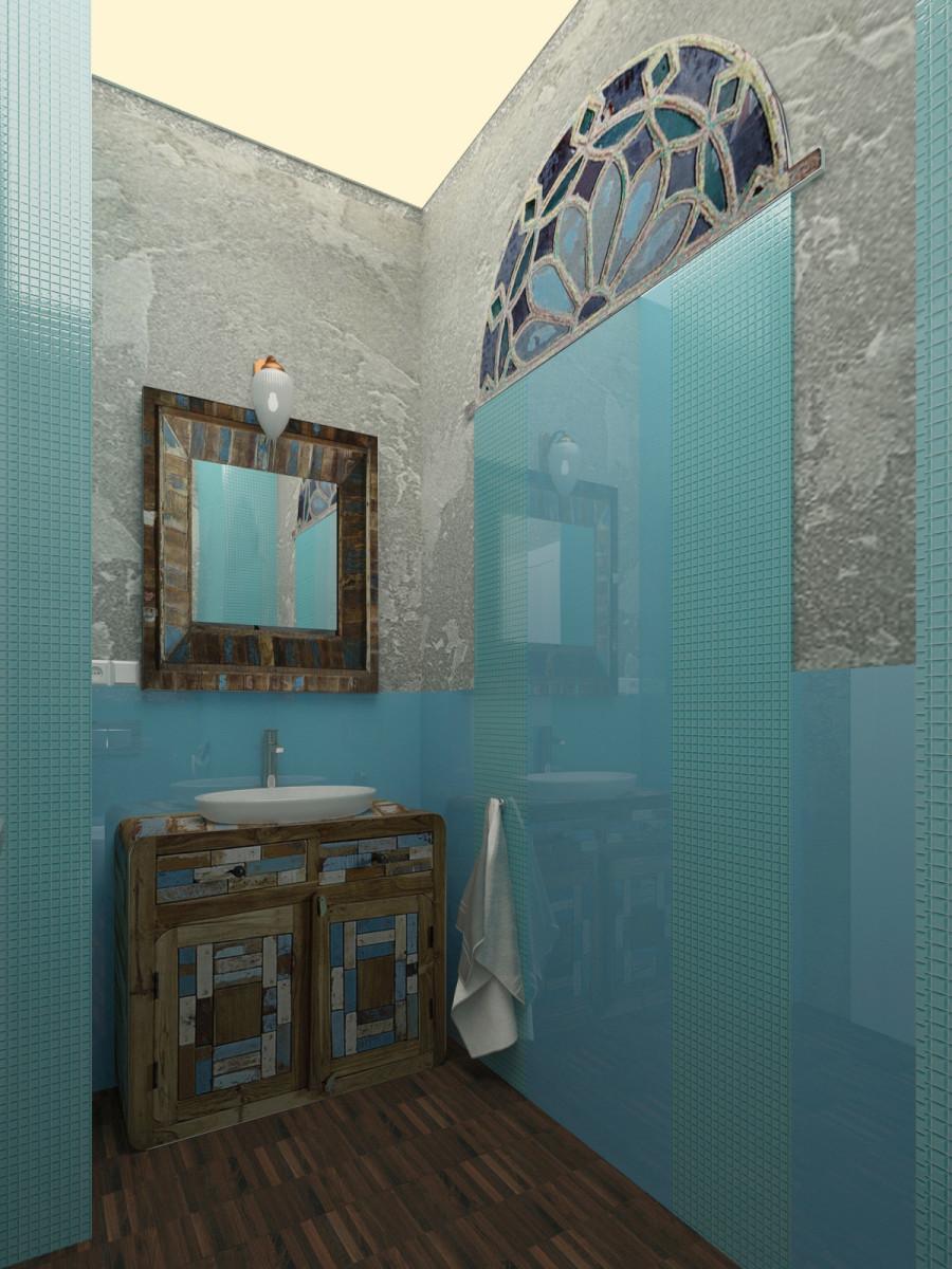 łazienka ze szkłem na ścianie (8)