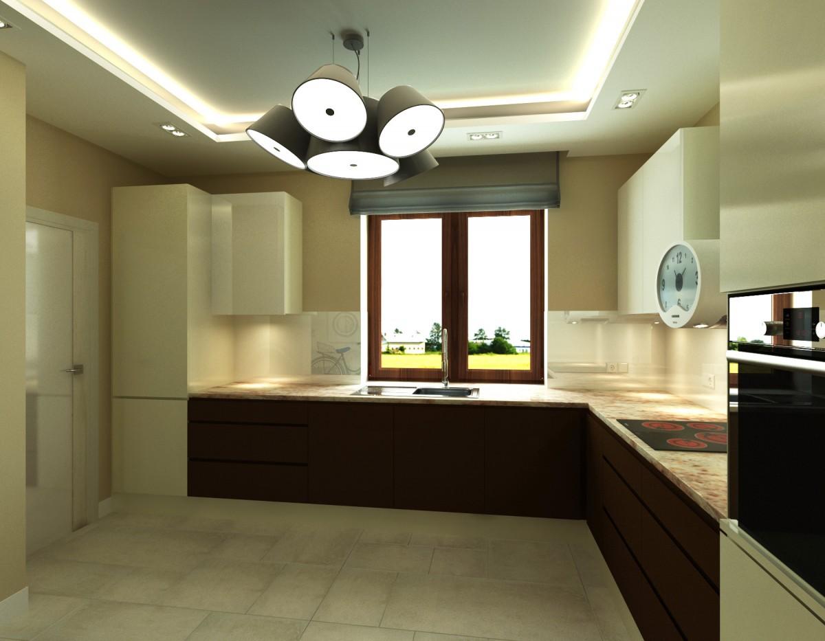 kuchnia z grafiką na ścianie (3)