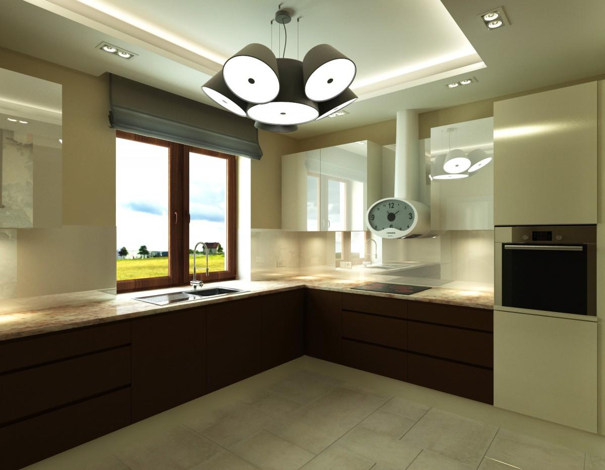 kuchnia z grafiką na ścianie (4)