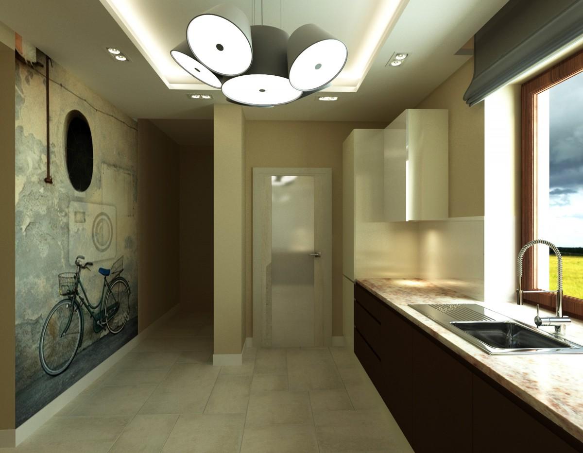 kuchnia z grafiką na ścianie (5)