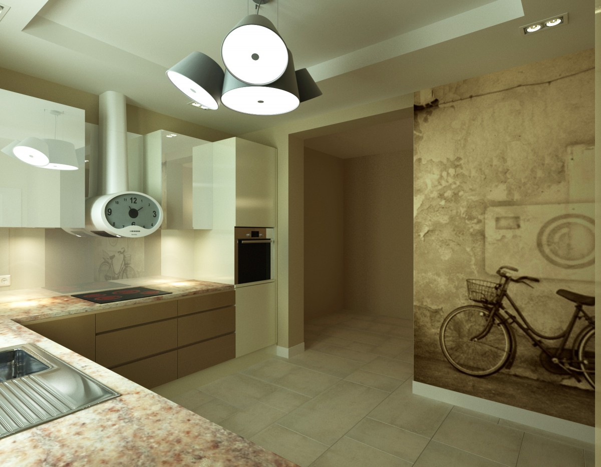 kuchnia z grafiką na ścianie (7)