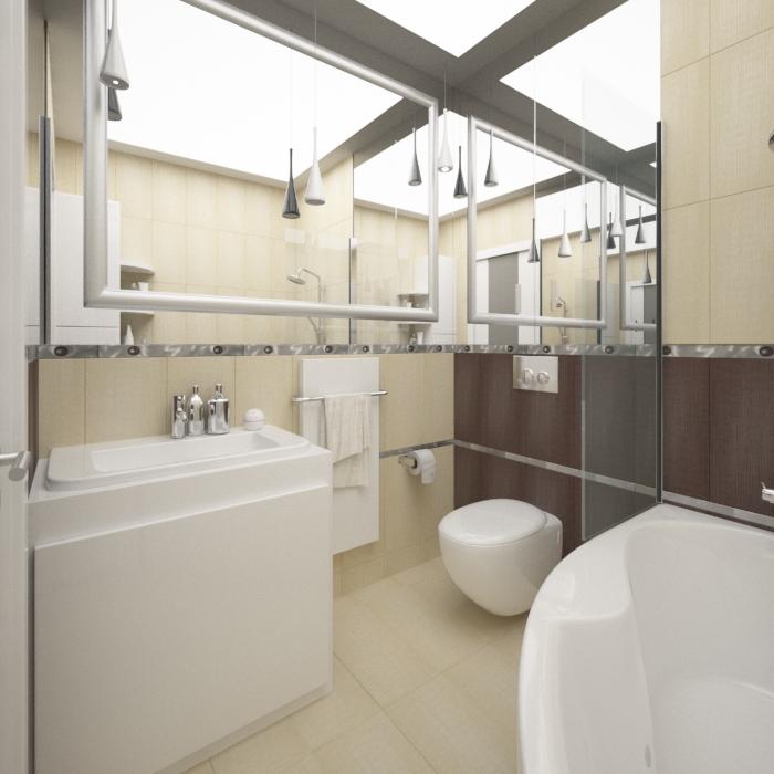 mała łazienka z wanną (2)