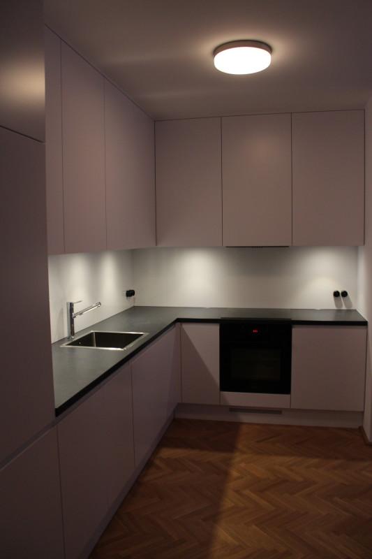 kuchnia z czarnym blatem (1)  Bitronao Design Studio -> Kuchnia Wenge Z Czarnym Blatem