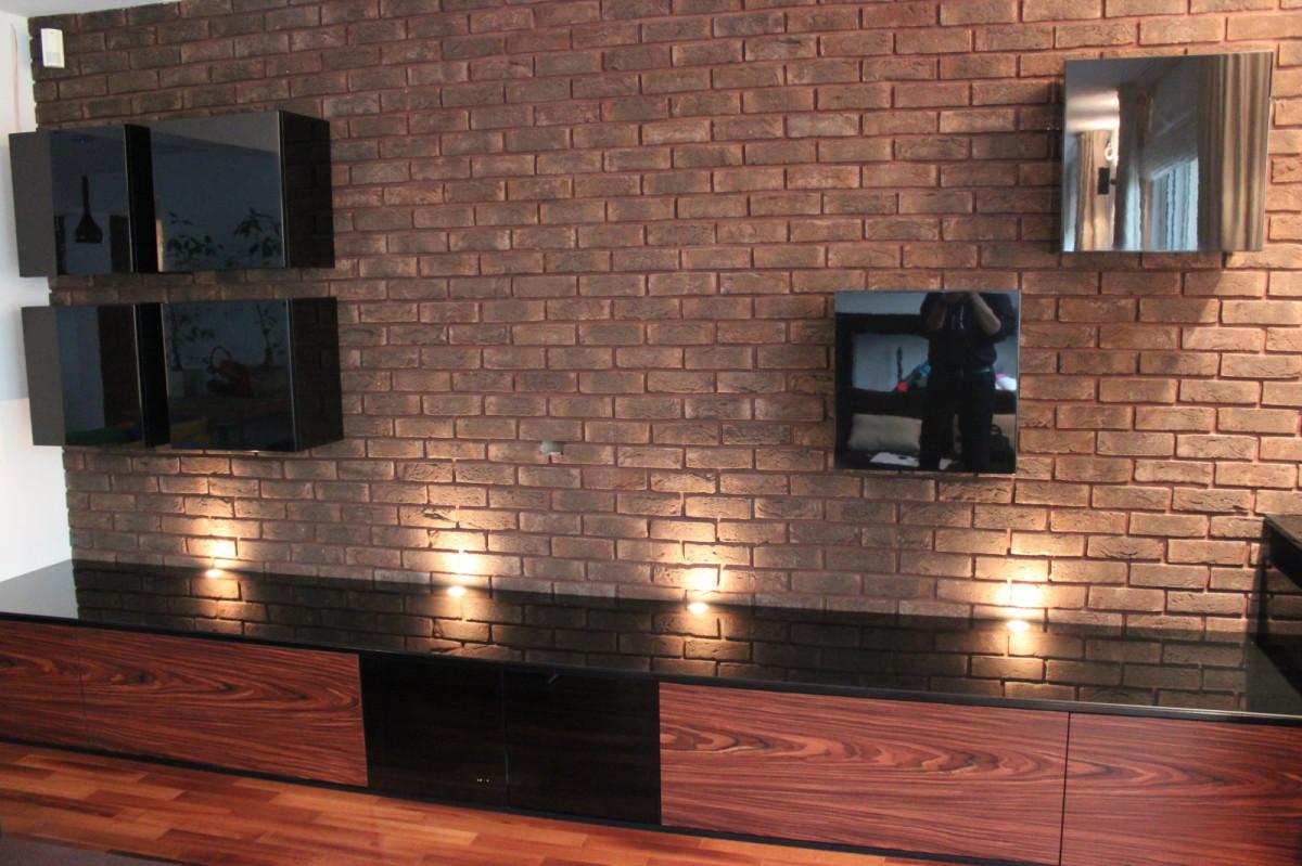 Meble Do Salonu Na Scianie Tv Bitronao Design Studio