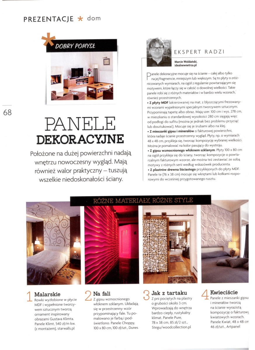 miesięcznik CZTERY KĄTY 4 2014 str 68